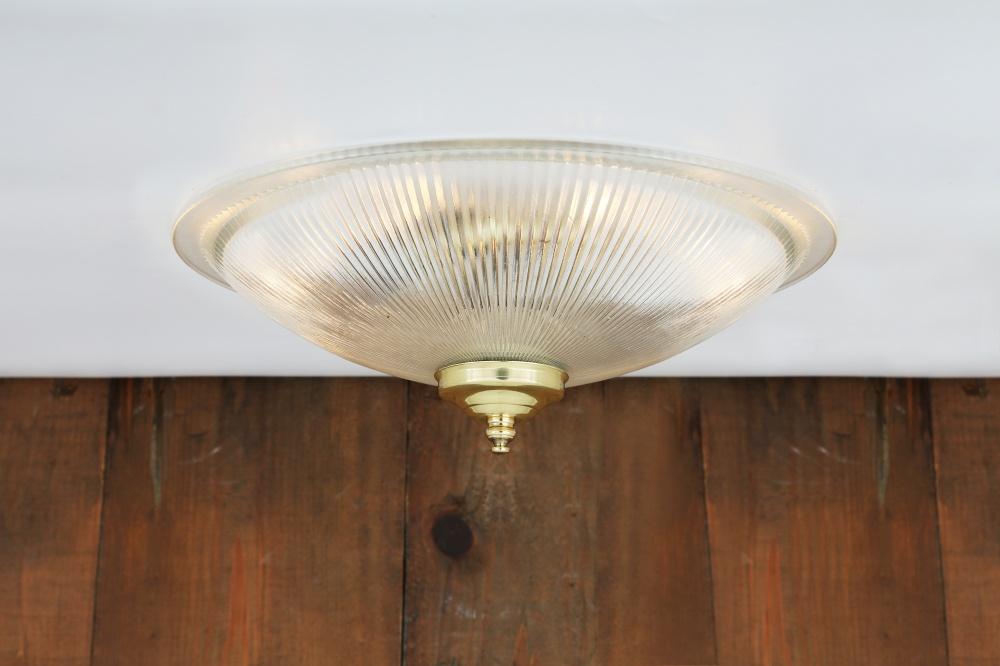 Nicosa Shallow Holophane Ceiling Light